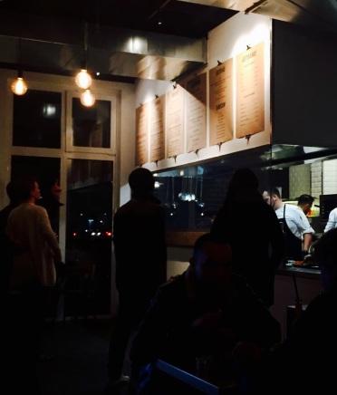 In der Lindenblatt Burger Bar ist Selbstbedienung angesagt