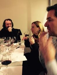 Eleonora und Marco Casolanetti and Jean-Daniel Loparco from Alfavin.ch