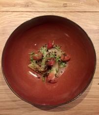 Winterspargel mit Tomaten