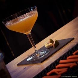Cocktail mit Aquavit