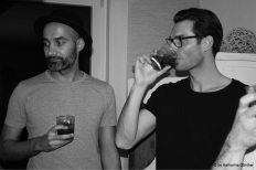 CHEF.ONE-Gründer Eddi mit Jan – dem Gastgeber des Abends aus der List.