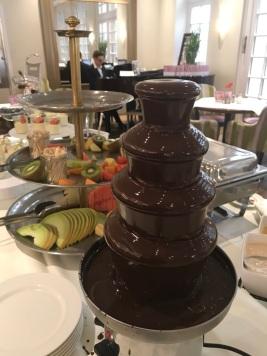 Schokoladen-Brunnen